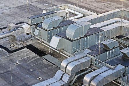 Instalación aire acondicionado industrial